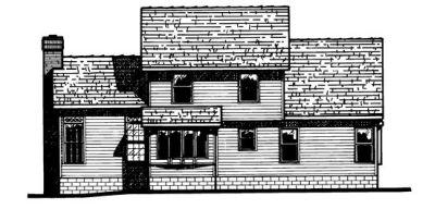 Rear Elevations Plan:10-501