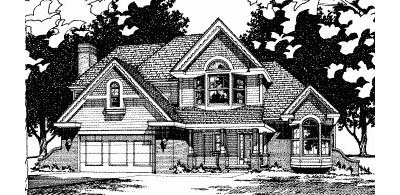 Victorian Style House Plans Plan: 10-502