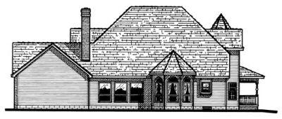 Rear Elevation Plan: 10-506