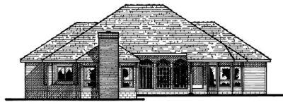 Rear Elevation Plan: 10-508
