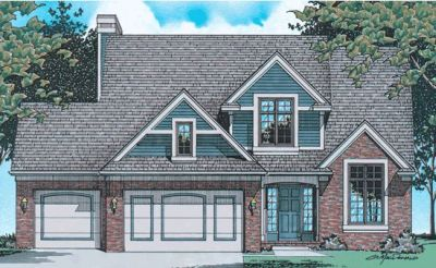 Traditional Style Floor Plans Plan: 10-509