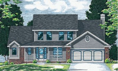 Traditional Style House Plans Plan: 10-530