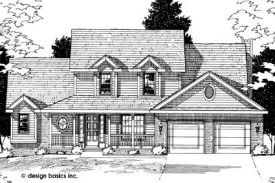 Country Style House Plans Plan: 10-531