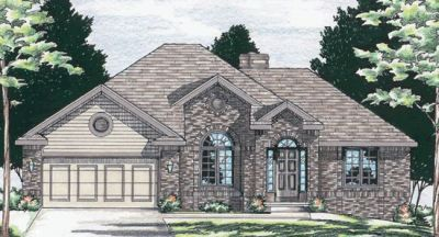 Traditional Style Home Design Plan: 10-535