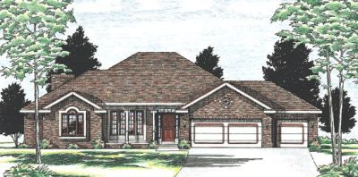 Traditional Style House Plans Plan: 10-541