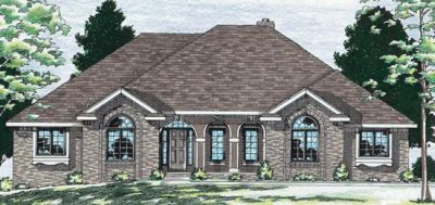 European Style Floor Plans Plan: 10-542