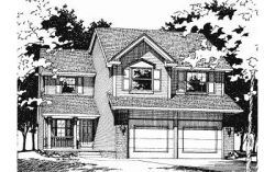 Traditional Style House Plans Plan: 10-554