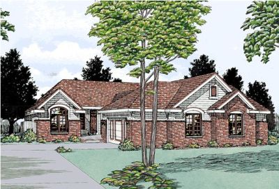 Traditional Style House Plans Plan: 10-572