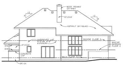 Rear Elevation Plan: 10-573