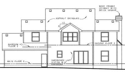 Rear Elevation Plan: 10-576