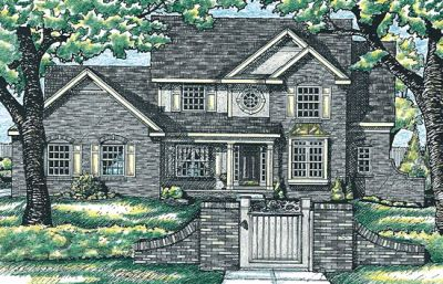 Traditional Style Floor Plans Plan: 10-580