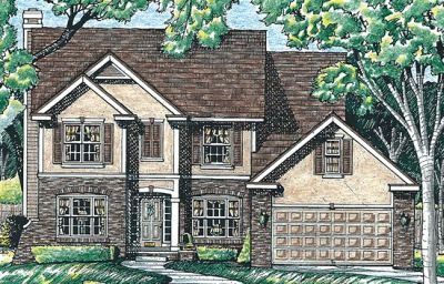 Traditional Style Floor Plans Plan: 10-581