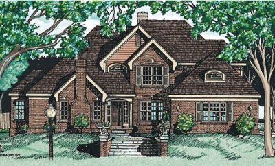 Traditional Style House Plans Plan: 10-582