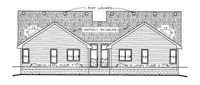 Rear Elevation Plan: 10-588