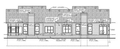 Rear Elevation Plan: 10-590