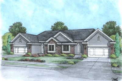 Traditional Style Home Design Plan: 10-593