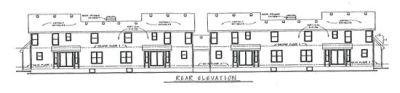 Rear Elevation Plan: 10-594