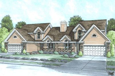 Traditional Style House Plans Plan: 10-595