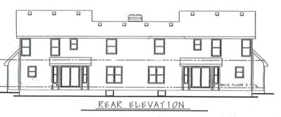 Rear Elevation Plan: 10-595