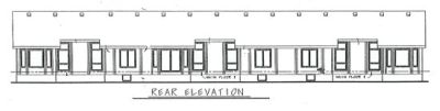 Rear Elevation Plan: 10-597