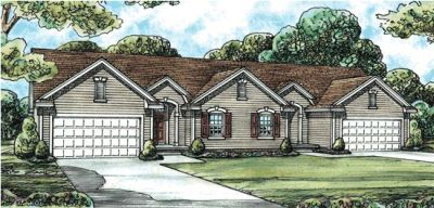 Traditional Style Floor Plans 10-598
