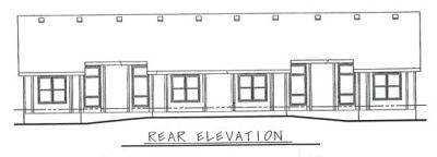 Rear Elevations Plan:10-598
