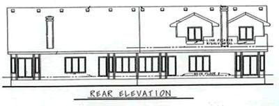 Rear Elevation Plan: 10-601