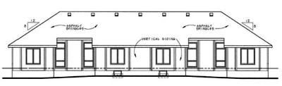 Rear Elevation Plan: 10-602