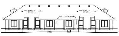 Rear Elevations Plan:10-602