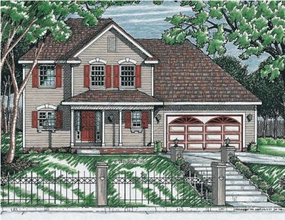 Traditional Style House Plans Plan: 10-608