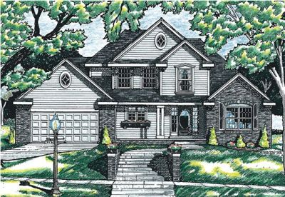 Traditional Style Floor Plans Plan: 10-610
