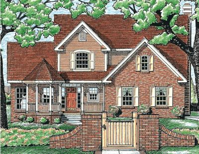 Traditional Style House Plans Plan: 10-612