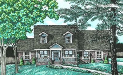Country Style House Plans Plan: 10-614