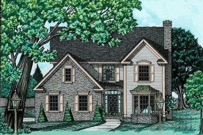 Traditional Style House Plans Plan: 10-615