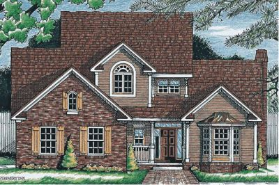 European Style House Plans Plan: 10-617