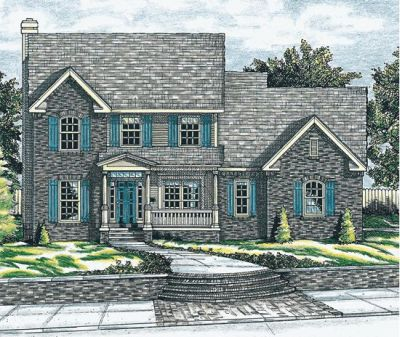 Early-american Style House Plans 10-618