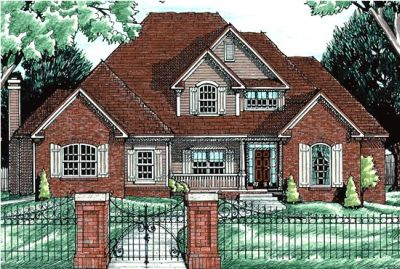 Traditional Style House Plans Plan: 10-621