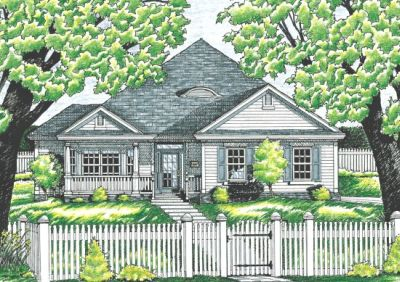 Traditional Style House Plans Plan: 10-622