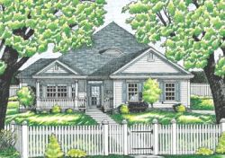 Traditional Style Floor Plans Plan: 10-622