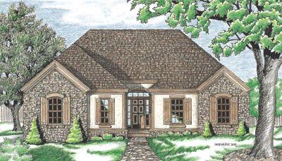European Style House Plans Plan: 10-625