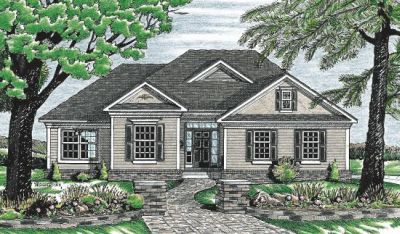 Traditional Style Floor Plans 10-631