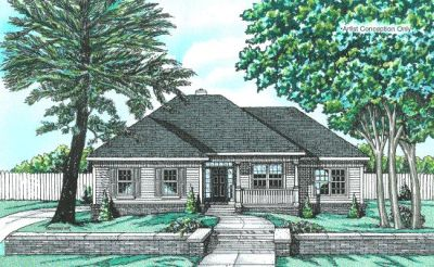 Traditional Style Home Design Plan: 10-636
