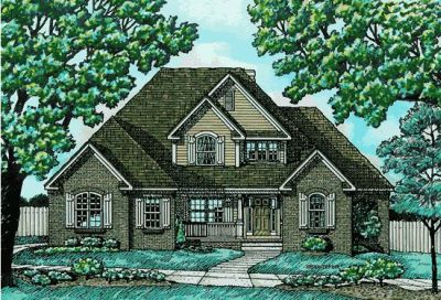 Traditional Style Home Design Plan: 10-637