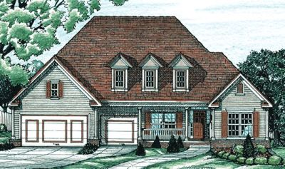Traditional Style House Plans 10-639