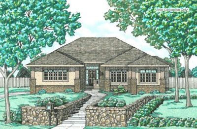 Traditional Style Floor Plans Plan: 10-640