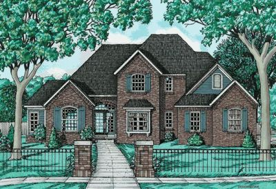 Traditional Style House Plans Plan: 10-644