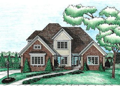Traditional Style House Plans Plan: 10-646