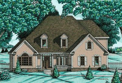 Traditional Style Home Design Plan: 10-650