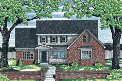 Traditional Style House Plans Plan: 10-651