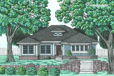 Traditional Style House Plans Plan: 10-657